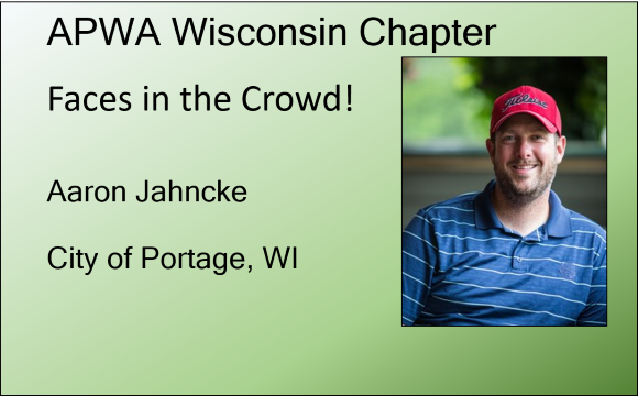 Aaron Jahncke, City of Portage, WI